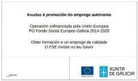 CARTEL XUNTA Fondo Social Europeo